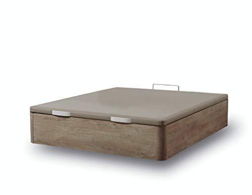 IKON SLEEP Canapé Abatible Fénix de Madera Cambrian 140x190 cm - Montaje a Domicilio | Gran Capacidad | Esquinas de Madera