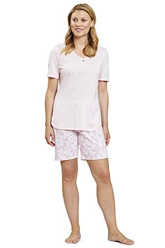 Rösch Damen Pyjama kurz mit Camouflage- SMART CASUALPrint - SMART Casual Zola, 1203056 46 Camouflage