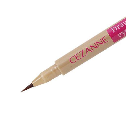 セザンヌ描くふたえアイライナー影用ブラウン0.5mlふたえを強調リキッドアイライナー