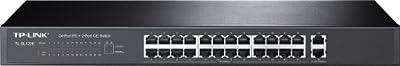 TP-Link 24-Port Gigabit Ethernet Rack-Mountable Switch