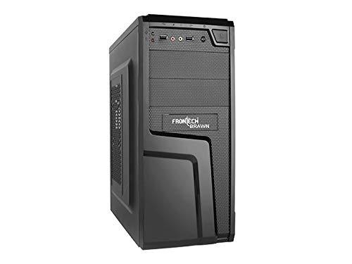Frontech Computer Case- Brawn Cabinet
