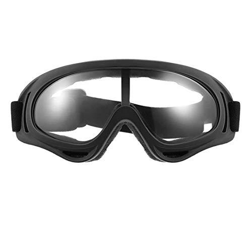 TOOGOO Gafas de Moto MáScaras Gafas de Motocross Gafas de Casco una Prueba de Viento Off Road Cascos de Motocross Gafas