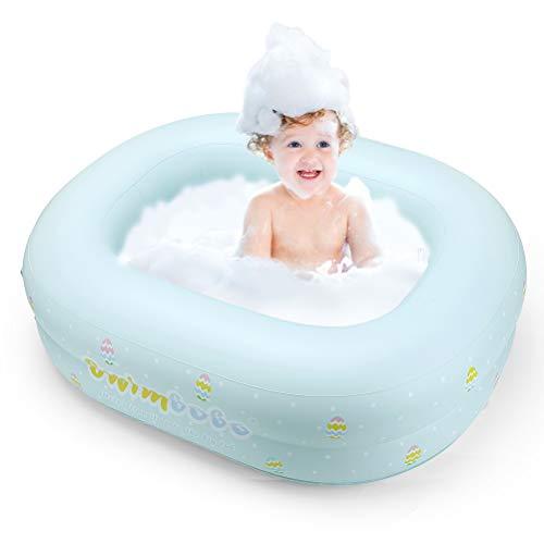 SUPVOX Baby Inflatable Bathtub Portable Infant Bathing Tub Non Slip Bathtub with Air Pump for Toddler Newborn