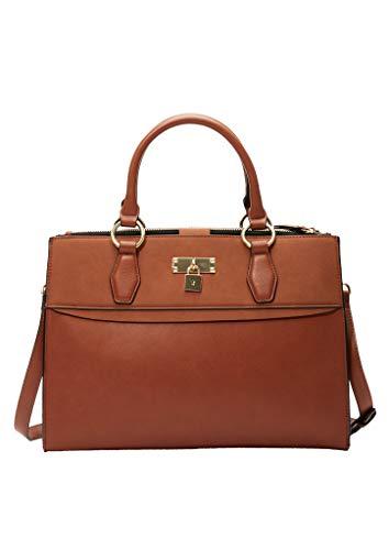 s.Oliver (Bags) 201.10.003.30.300.2037050, Shopper Tasche, Damen, Braun Einzigartige Größe