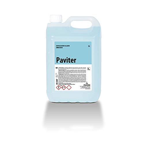 Cristalizador sellador simultaneo PAVITER 5 Lts. Apto uso en hogares, restaurantes, cafeterías, hoteles, residencias, hospitales, albergues, hoteles o gimnasios.