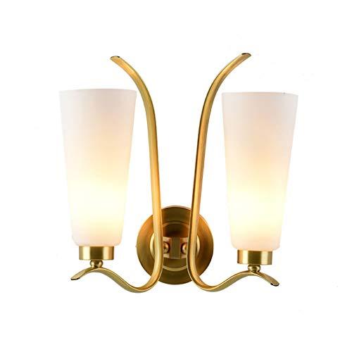 YaoXI koperen wandlamp modern E27 wandlamp inrichtingen monteren wanden retro voor woonkamer keuken eetkamer hanglamp