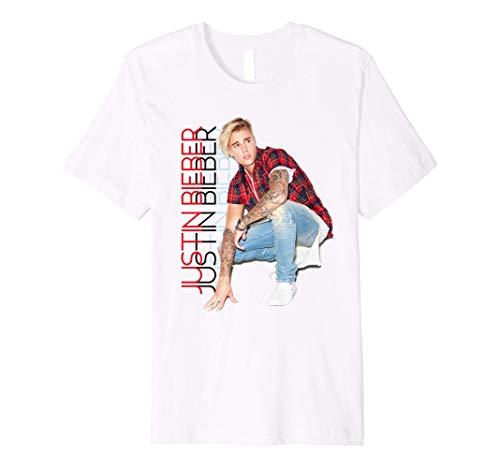 Justin Bieber Official Crouching Pose Premium T-Shirt