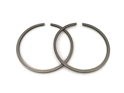 OEM Piston Ring Set Anillos de 48mm x 1.2mm de espesor para STIHL 034 Super 036 MS360 OPEM K2 Anillos Kolbenring Moto de motor de motosierra