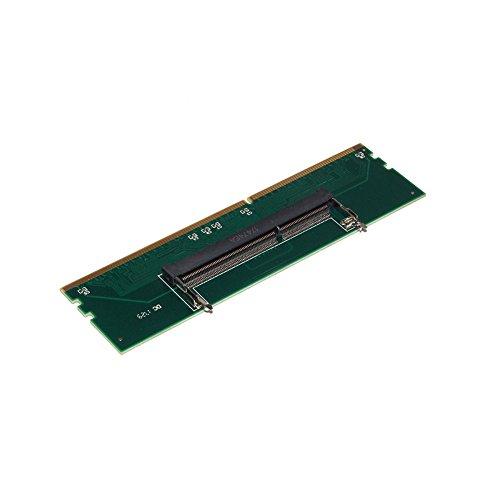 Cutowin - Adaptador de Memoria RAM DDR3 SO-DIMM a Ordenador de sobremesa DIMM (240 a 204P)