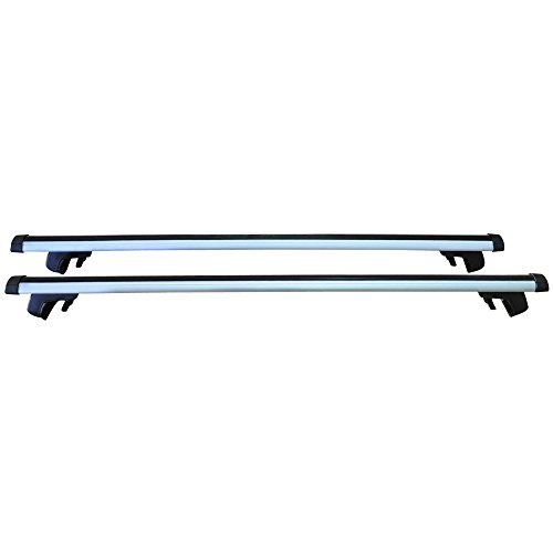 48 Inch Roof Top Rail Adjustable Carrier Aluminum 120CM Top...