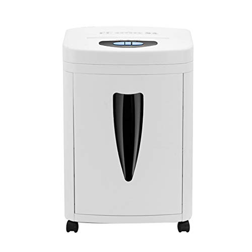 Find Bargain WHJ@ 8-Page Commercial Electric Shredder, Office Small Shredder, High Security Micro-Cu...