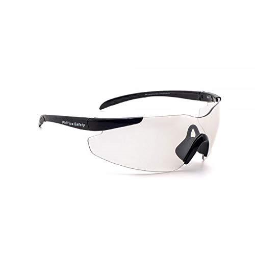 Gafas de seguridad Warden (transparentes con plata antirreflectante)