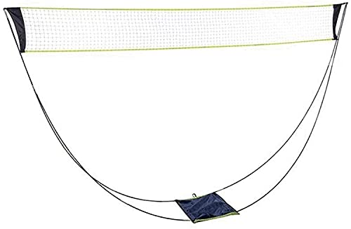 HTDHS Badminton Net Praktische badminton Trainingsnet Nylon Standaard Sport 2.9m Badmiton Nets Sportartikelen Duurzaam…