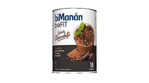 biManán - beFIT - Proteína para tonificar - Batido Chocolate - 18uds 540 gr