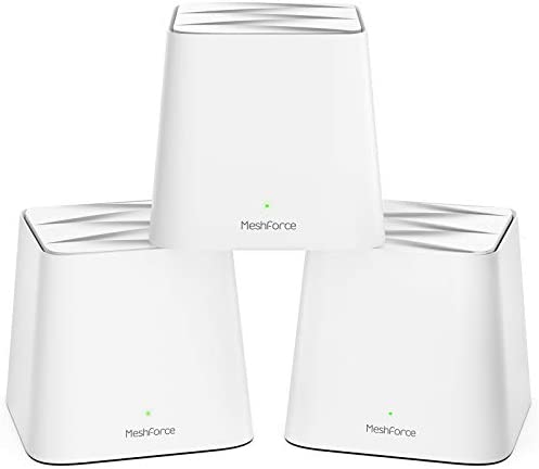 Meshforce M1 Whole Home Mesh WiFi System 3 Pack 2020 Upgraded WiFi Performance Dual Band Wireless product image
