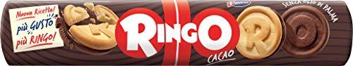 Ringo - Biscotti farciti con crema, al gusto di cacao, 165 g