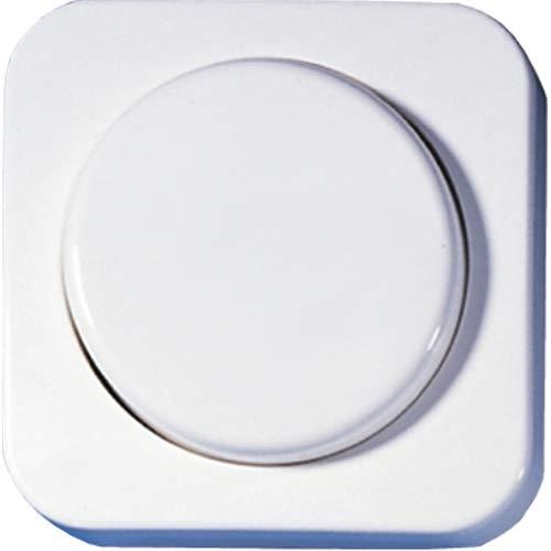 OPUS® 1 Abdeckung für Dreh-Dimmer und Potentiometer Farbe reinweiß