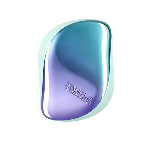 Tangle Teezer - Spazzola Districante Compatta, Colore: Petrolio, Blu