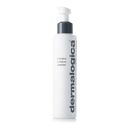Dermalogica Intensive Moisture Cleanser (5.1 Fl Oz) Hydrating Face Wash for Dry Skin - Cleans Skin Leaving it Feeling Smoother, Softer, and More Luminous