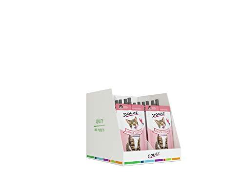 DOKAS Snack-Creme mit Huhn – Cremiger Premium Snack für Katzen – Ideal als Topping oder zur Belohnung
