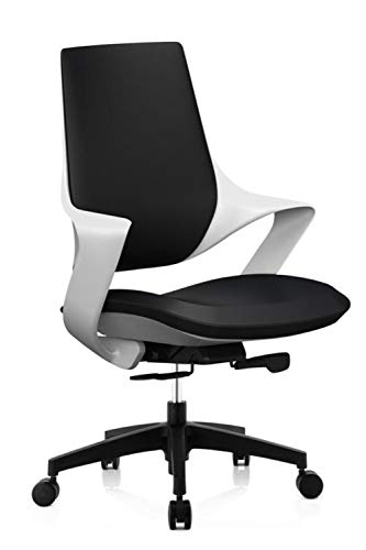 HOLPPO-Desk Respaldo Alto Silla de Oficina, Computadora giratoria de elevación del Asiento ergonómico (Color : J)