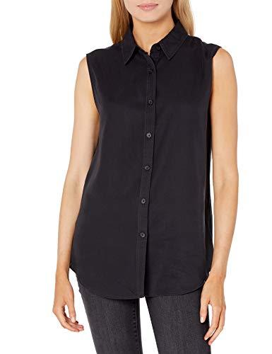 The Drop Women's Allie Sleeveless Button Front Shirt