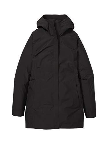 Marmot Wm's Essential Jacket Chubasquero rígido, Chaqueta Impermeable, a Prueba de Viento, Impermeable, Transpirable, Mujer, Black, L