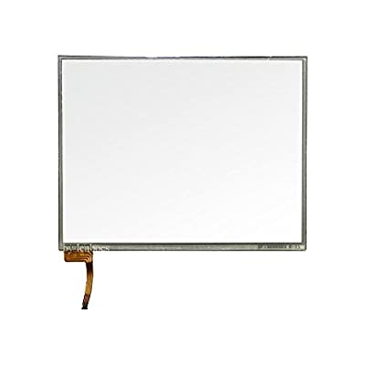 lenboes Front Outer Panel Touch Screen Digitizer Repair Replacement Glass Lens (NO LCD Screen) with Y-Tool for Nintendo New 3DS XL LL Console 2015 (NOT for 3DS XL LL)