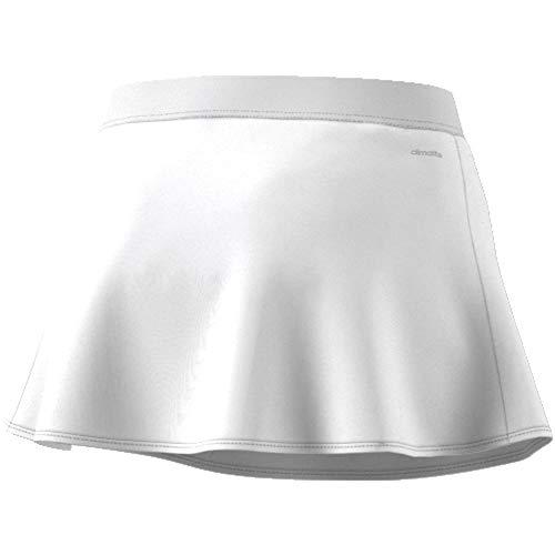 adidas Club Falda de Tenis, Mujer, Blanco (White/Black), M
