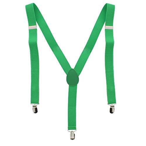 ZAC Alter Ego Bretelles ajustables unisexes Uni Largeur 25 mm - vert -