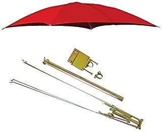 ROPS Case-IH & MF Red Tractor Umbrella Canopy & Canvas Cover w/Rollbar Mount Farmer Bob's Parts 405967