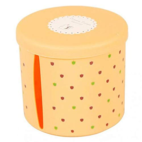 LZXLL Cajas de pañuelos de plástico Impermeables Redondas Soporte de Papel higiénico...