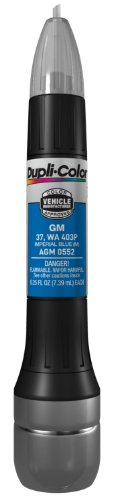 Dupli-Color AGM0552 Metallic Imperial Blue General Motors Exact-Match Scratch Fix All-in-1 Touch-Up Paint - 0.5 oz.
