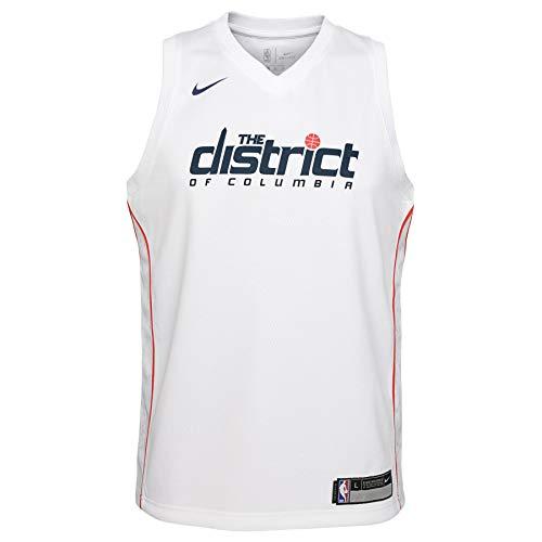 Nike NBA Big Boys Youth (8-20) City Edition Swingman Jersey, Washingon Wizards XL 18-20