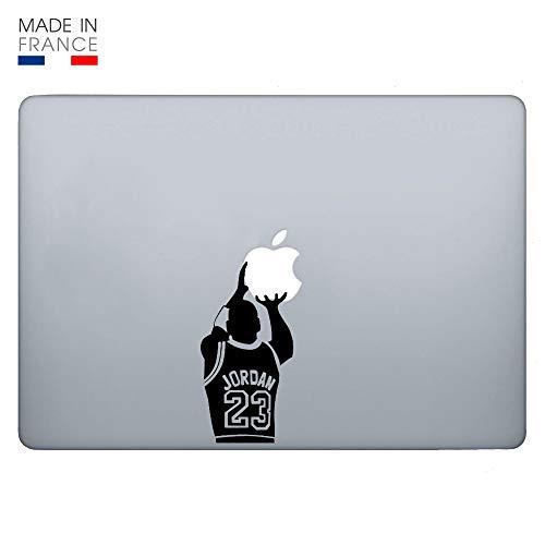 Sticker Laptop - Jordan Basket Ball Korbball (Sticker Laptop, Aufkleber Für Laptop) (MacBook Air 13