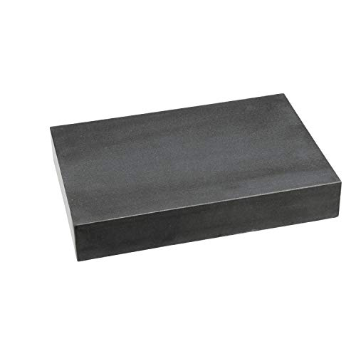 HHIP 4401-1812 Black Granite Surface Plate, Grade A, Ledge 0, 18