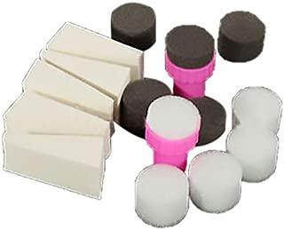 1 Set Nail Art Sponge Gradual Change Stamp Polish Stamping Manicure Tool
