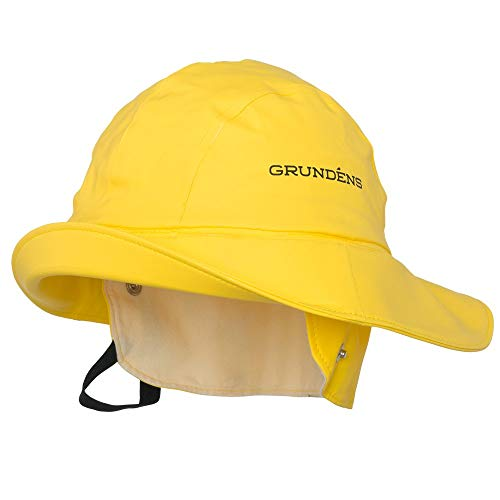Grundéns Men's Sandhamn 21 Fishing Hat, Yellow - Medium