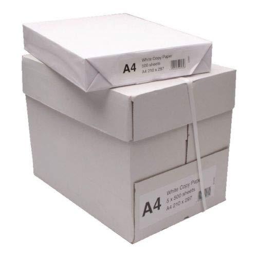 K-One 1 Box A4 Plain White Multifunction Copier Paper 80GSM 2500 Sheets (5...