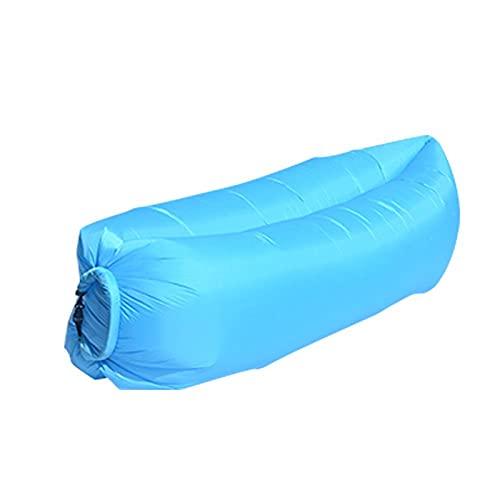 WDL WDLInflable Sofá de aire Hamaca portátil, a prueba de agua, diseño antifugas de aire, ideal para patio trasero, lago playa, viajes, campings y E-OneSize