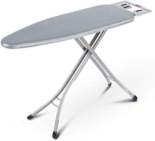 Aysis International Quality Ironing Board/Iron Table Stand with Press Holder, Foldable & Height Adjustable/Ironing Board with Multi-Function Ironing Table/Ironing Board Covers with Foam pad