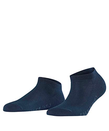 FALKE Damen Sneakersocken Family - 94% Baumwolle, 1 Paar, Blau (Marine 6129), Größe: 35-38