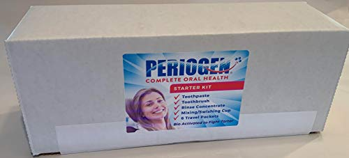 Periogen Starter Kit - Your Best Value on Periogen Oral Care! (Photo depicts kit Contents)