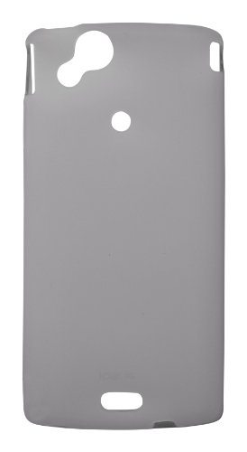 Ideus COARCSTPUSKGY - Carcasa para Sony Ericsson Xperia Arc S, gris ahumado