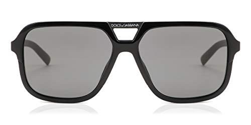 Ray-Ban Herren 0DG4354 Sonnenbrille, Schwarz (Black), 58