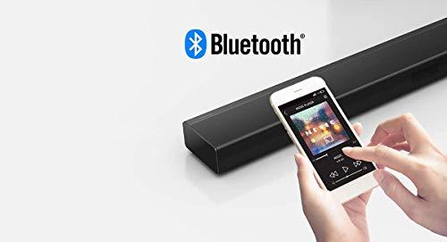 Panasonic SC-HTB400EGK 2.1 Soundbar mit integriertem Subwoofer (Dolby Digital, Bluetooth, HDMI, 160 Watt RMS) schwarz