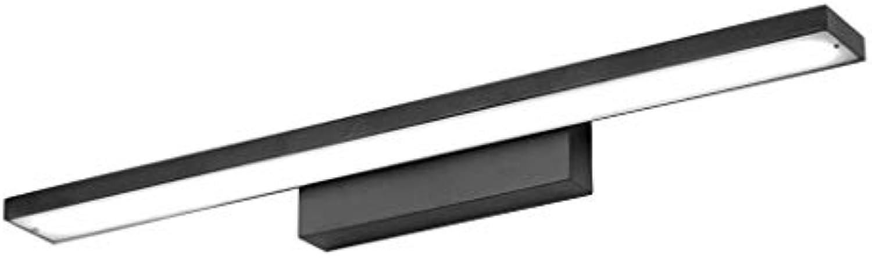 SCJ LED-Spiegel Frontlicht, wasserdicht und feuchtigkeitsBestendig Bad Bad kreative Nordic einfache Bad Aluminiumspiegel Lampe Lnge 40 60 80   100cm Wasserdicht, Anti-Fog (Gre  Long40cm)