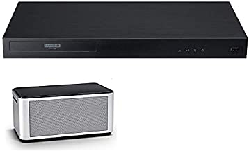 UBK90 Streaming 4k UHD Blu-Ray Player w/Dolby Vision WiFi Streaming Player + OREI Bluetooth Speaker