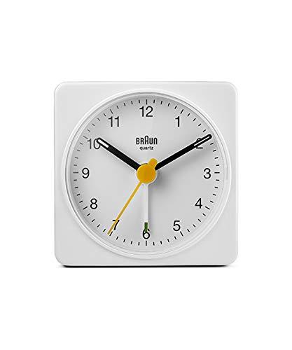 BRAUN ALARM CLOCK ブラウン アラーム クロック BC02B 時計 クロック ホワイト 白 置き時計 目覚まし時計 トラベル 旅行 [並行輸入品]