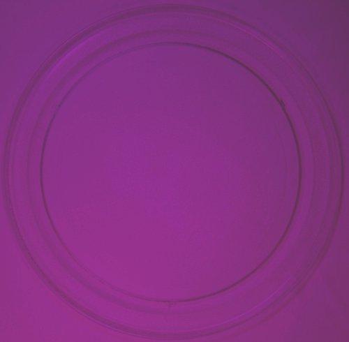 Mikrowellenteller / Drehteller / Glasteller für Mikrowelle # ersetzt Germatic Mikrowellenteller # Durchmesser Ø 36 cm / 360 mm # Ersatzteller # Ersatzteil für die Mikrowelle # Ersatz-Drehteller # OHNE Drehring # OHNE Drehkreuz # OHNE Mitnehmer